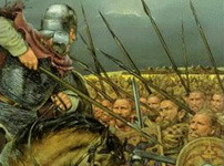 Post-Roman Britons in battle
