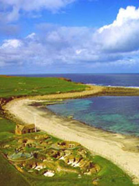 Skara Brae and the Bay of Skaill