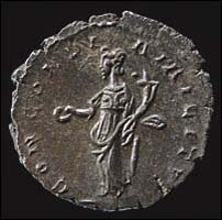 Rear of the Domitianus coin