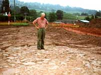 Richard Field on the Carmarthen Roman road