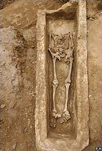 Roman burial in London
