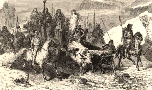 Gauls on expedition