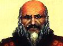 Illustration of Khan Kubrat, founder of Great Bulgaria.