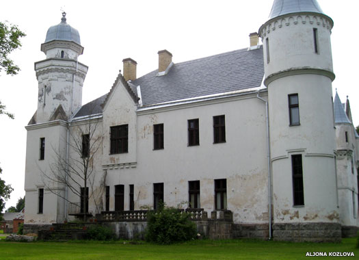 East wing, or right wing, of Alatskivi Castle