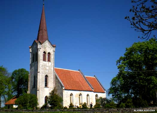 St Mary's Church, Jõelähtme, Estonia