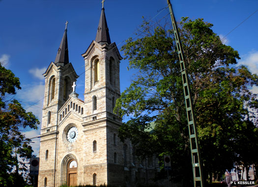 The St Charles XI Church, Tallinn, Estonia
