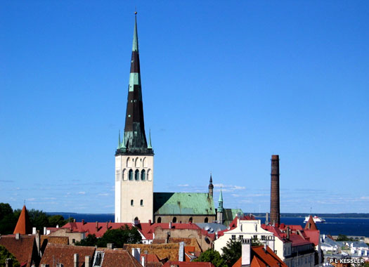 St Olaf's Church, Tallinn, Estonia