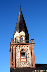 Tori church tower