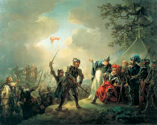 The Danish capture of Tallinn in 1219