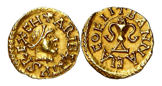 Coin of Charibert II