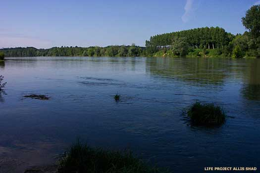 River Garonne in France