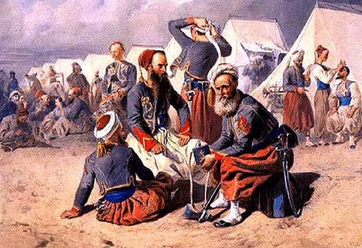 French Zouaves in the Crimea