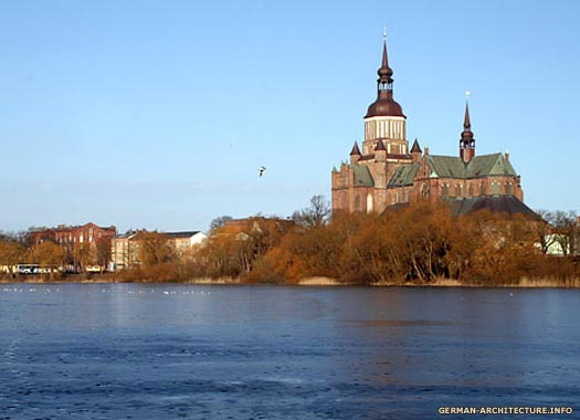 St Mary's Church in Stralsund