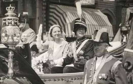 Prince Bernhard of Lippe-Biesterfeld and Princess Juliana of the Netherlands