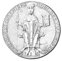 Seal of Archbishop Adalbert I of Mainz