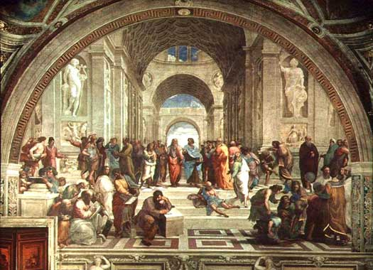 School of Athens by Rafael