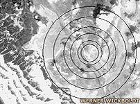 Concentric rings mark where Atlantis might have been