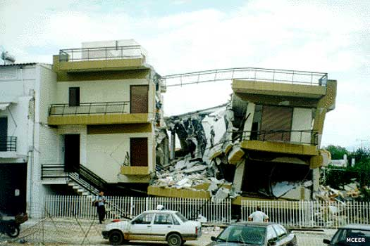 Greek earthquake 1999