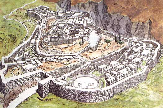 Mycenae reconstruction