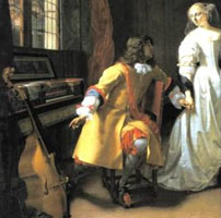 Elegant Couple (A Musical Interlude), c.1674