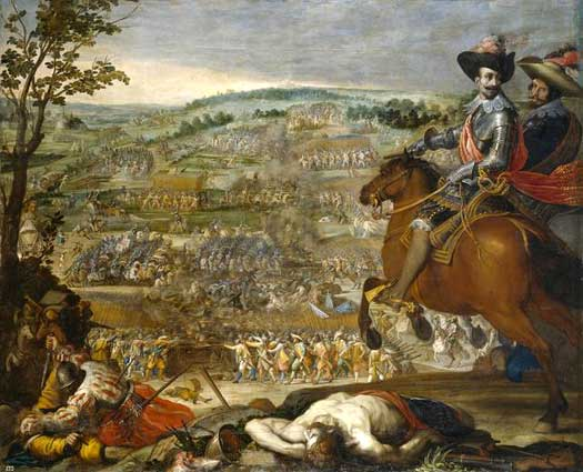 Battle of Fleurus in 1622