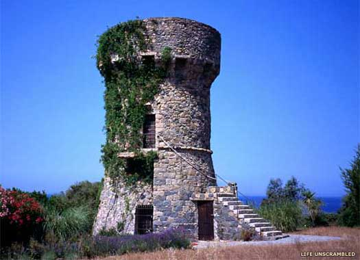 Genoese Tower on Corsica