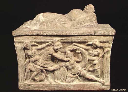 Etruscan ossuary