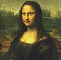 The Mona Lisa (La Joconde), around 1503/1505