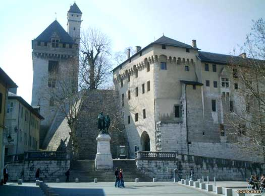 Chateau Chamb�ry in Savoy