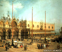 St Mark's Square in Venice by Canaletto