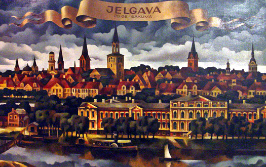 Jelgava in Courland