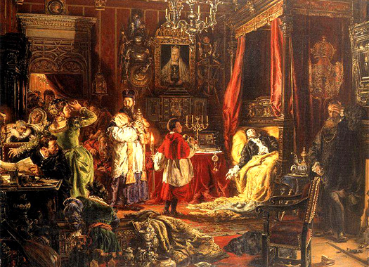 The death of Sigismund II
