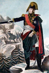Marshal McDonald of the French First Empire