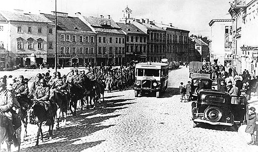 German troops enter Poland on 1 September 1939
