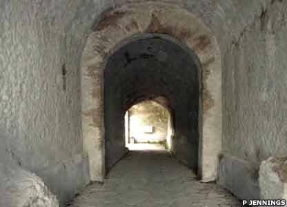 This passageway leads into the amphitheatre