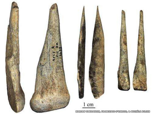 Chatelperronian tools