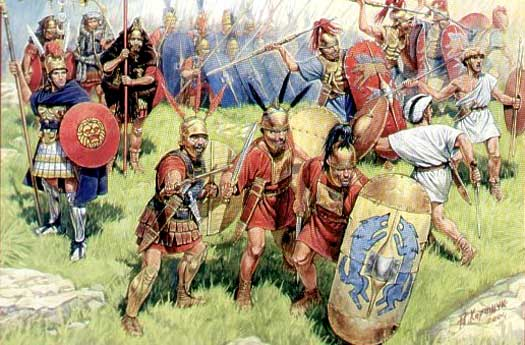 Battle of Bibracte Romans