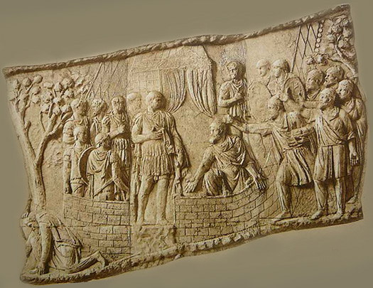 Emperor Trajan and the Dacians