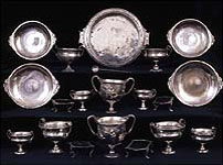 Silverware from Pompeii