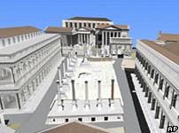 3D image of the Forum