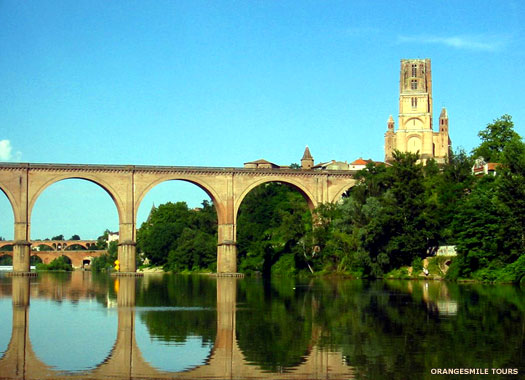 Roman bridge at Albi