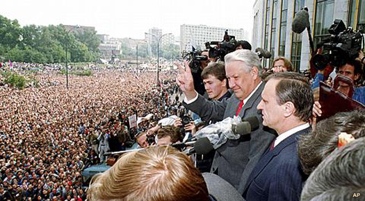 Boris Yeltsin in 1991
