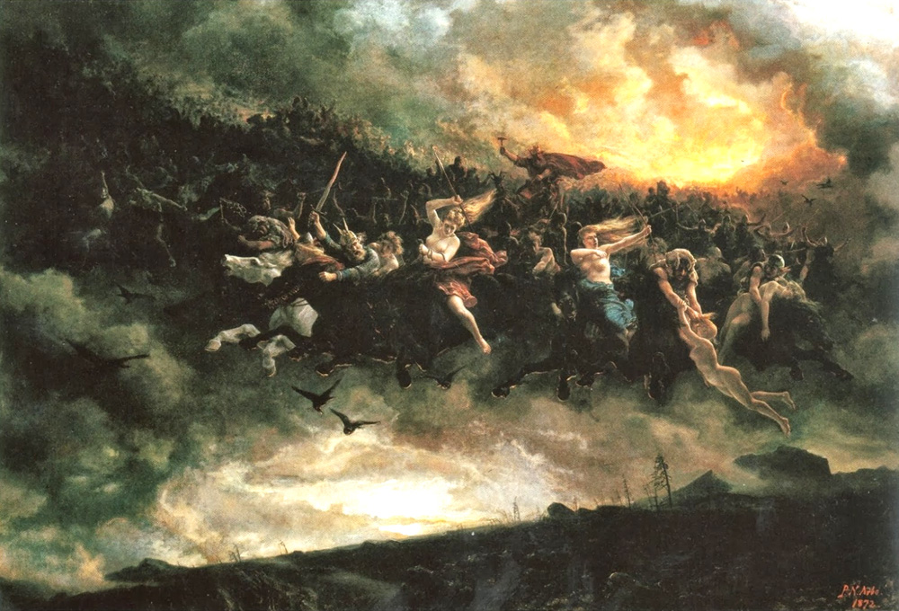 The Asynjur of Norse mythology