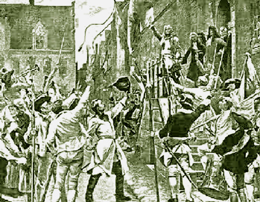 Capture of Malmo 1709