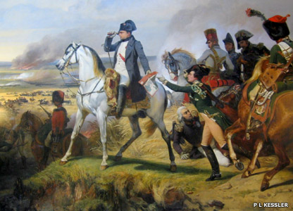 Battle of Wagram painting at Versailles