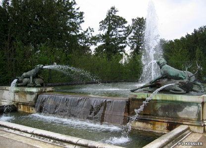 Water feature at Versailles