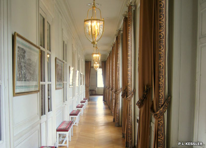 The Print Corridor in the Grand Trianon at Versailles
