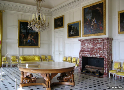 The King's Antechamber at the Grand Trianon in Versailles