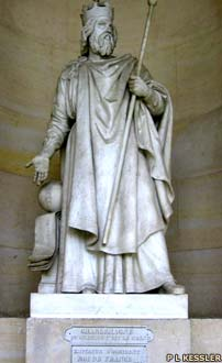 Statue of Charlemange at Versailles