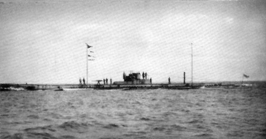 German submarine U20